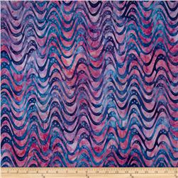 Robert Kaufman Elemental Batiks Geos Swirly Sweet