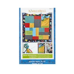 Kimberbell Kids Mini Monster Quilt Pattern