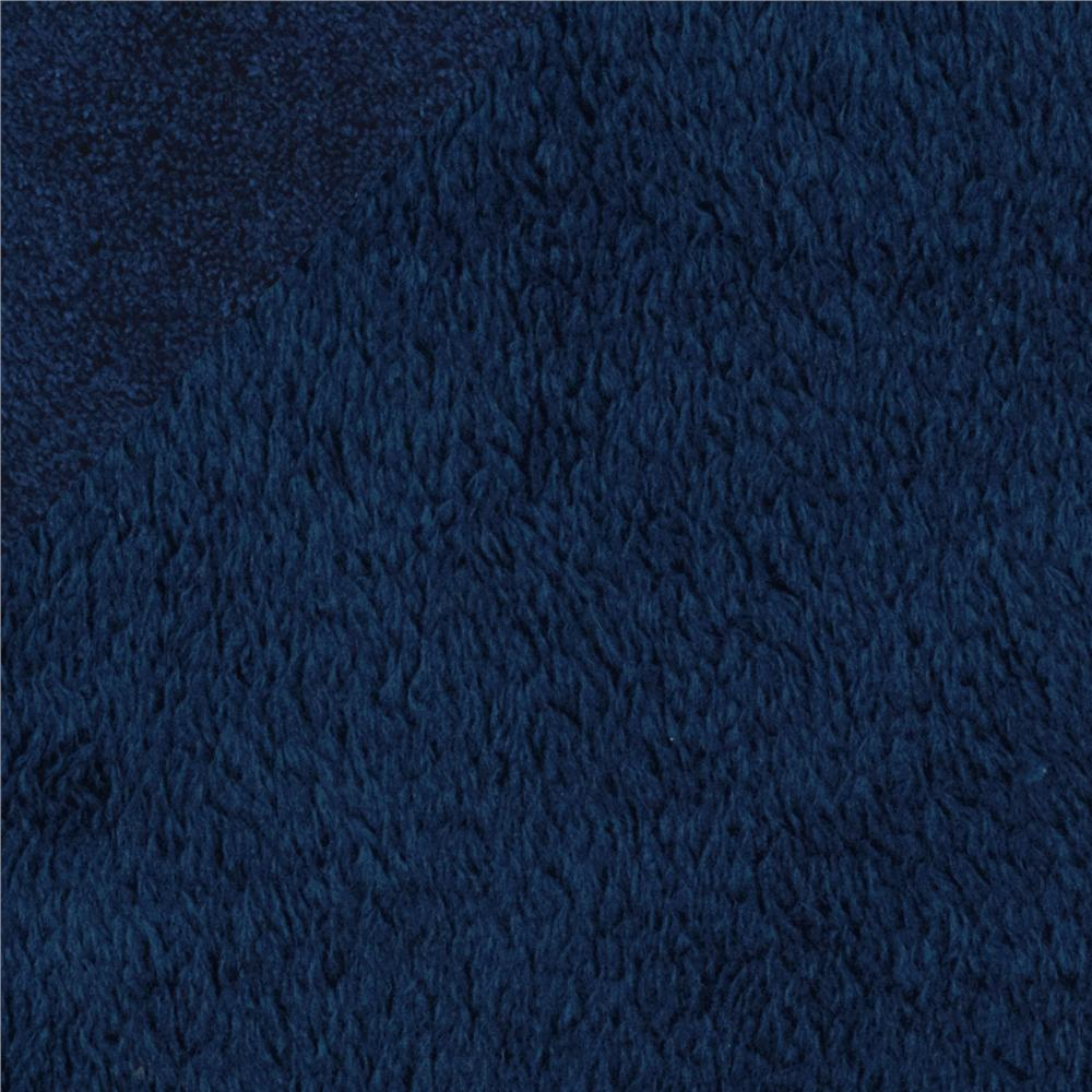 Double-Sided Minky Fleece Navy