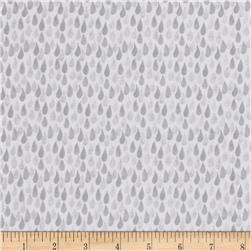Flutter Teardrop Light Grey