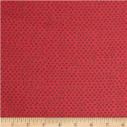 Ink & Arrow Pixie Square Dot Dark Salmon