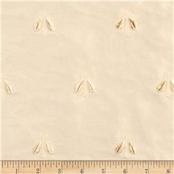 Tempo Embroidered Bumble Bee Taffeta Natural