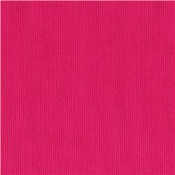 Kaufman 21 Wale Corduroy Hot Pink Fabric