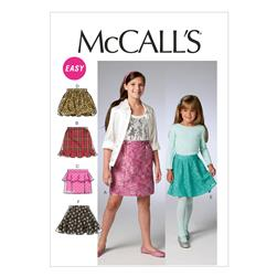 McCall's Children's/Girls' Unlined Jackets, Top, Dresses and Leggings Pattern M6549 Size CCE