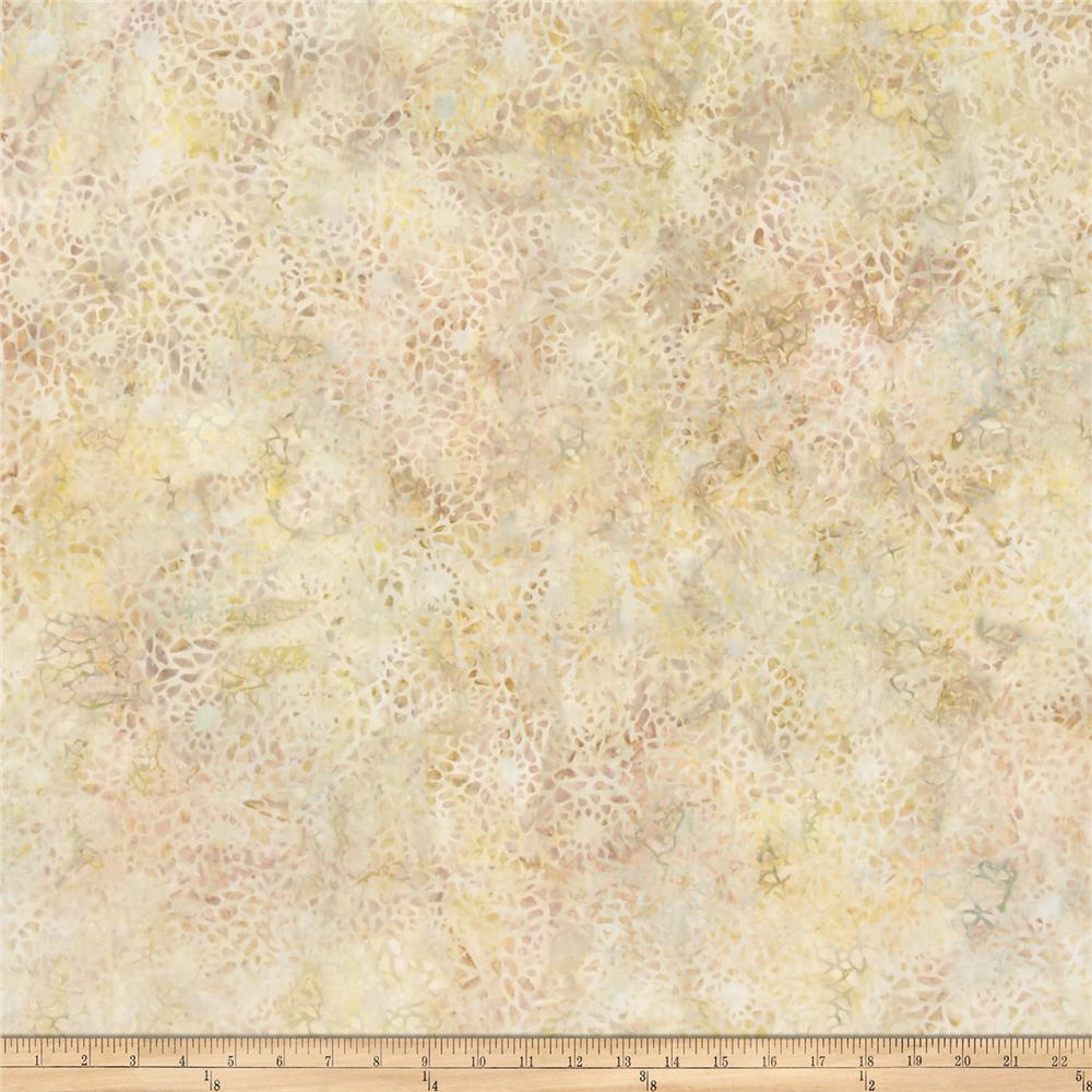Wilmington Batiks Mosaic Pale Yellow