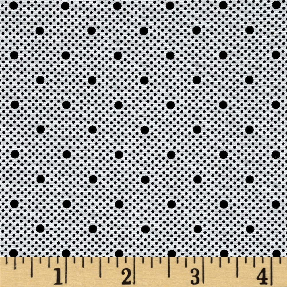 Telio Morocco Blues Stretch Cotton Shirting Dot Print
