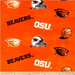 Collegiate Fleece Oregon State University Allover Print