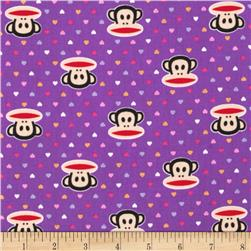 Paul Frank Julius & Mini Hearts Purple
