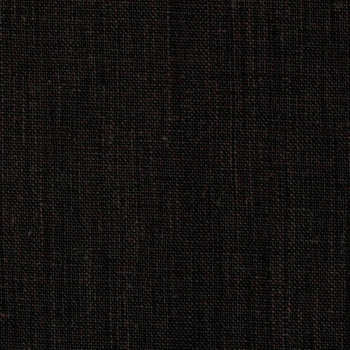 Medium weight linen black discount designer fabric for Black fabric