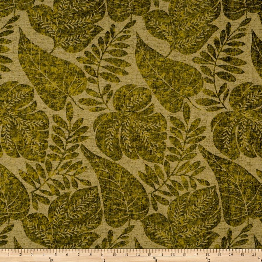 Fabricut Seasons Chenille Golden Olive