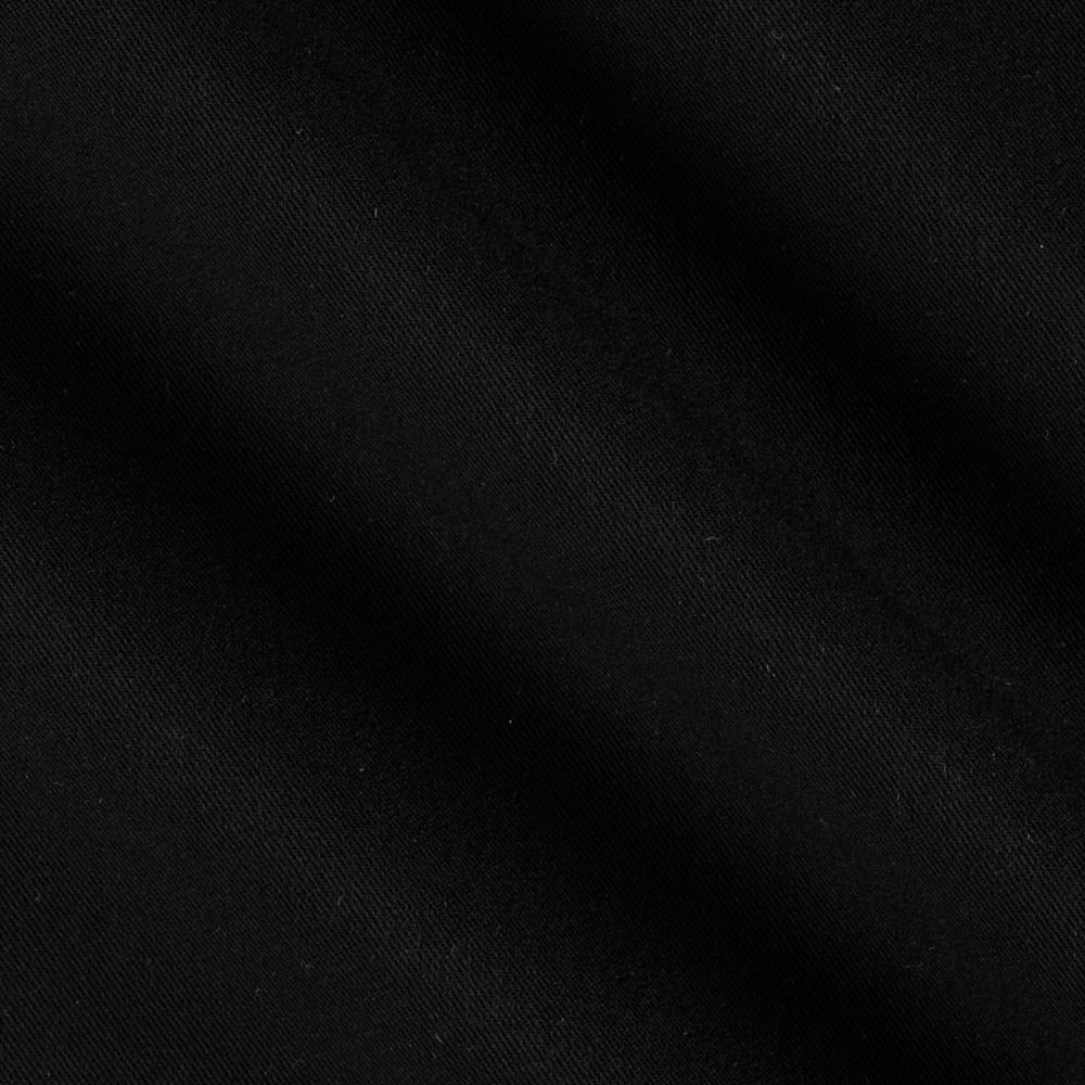 Kaufman bi stretch gabardine black discount designer for Black fabric