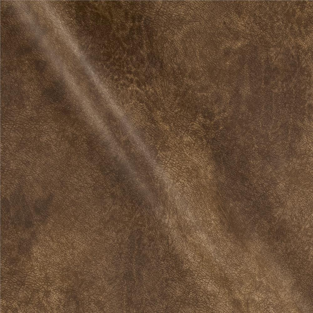 Richloom tough faux leather namibia chocolate discount for Fake leather upholstery