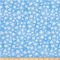 Essentials Snowflakes Light Blue