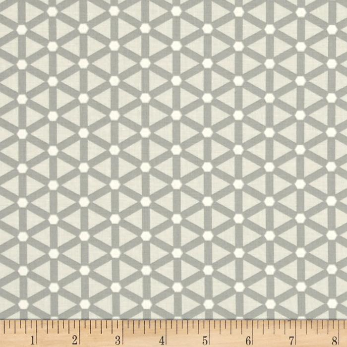 Moda Modern Background Paper Wheels Steel - Eggshell