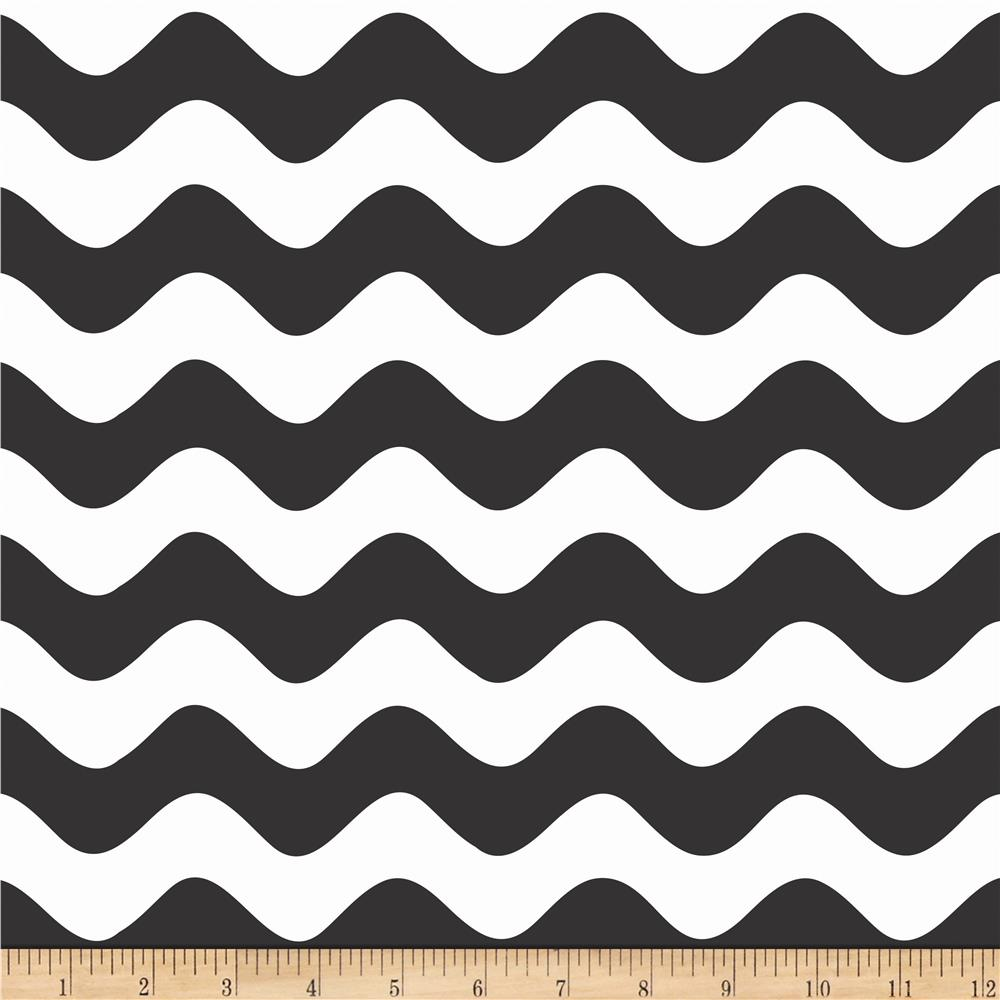 Riley Blake Wave Black