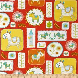 Happi Horses Horse Frames Red