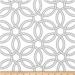 Michael Miller Bekko Home Decor Swirl Stone Grey