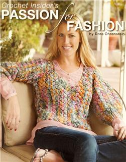 "Leisure Arts ""Crochet Insider's Passion For Fashion"" Book"