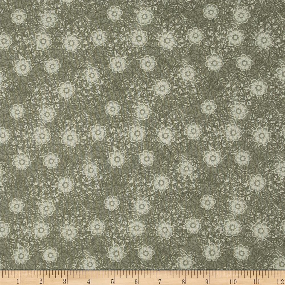 Wild Patch Paisley Small Floral Gray