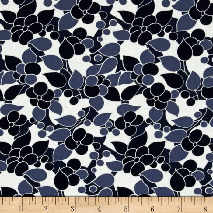 Moda Simply Colorful II Bloom Navy