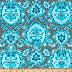 Riley Blake Fantine Damask Blue