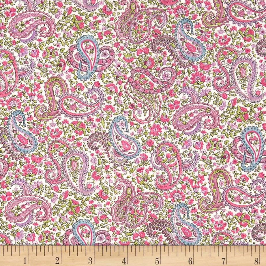 Liberty of London Tana Lawn Charles White/Pink/Multi