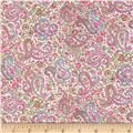Liberty of London Tana Lawn Charles White/Pink