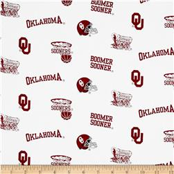 Collegiate Cotton Broadcloth Oklahoma