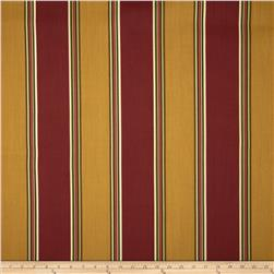 Indoor/Outdoor Stripes Red/Gold