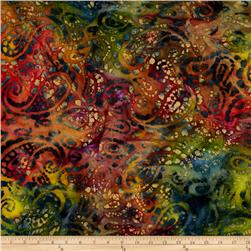 Indian Batik Seycheles Paisley Multi