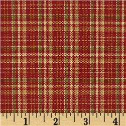 Covington Beckford Plaid Antique Red