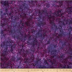 Batavian Batiks Rippled Reflections Bright Purple