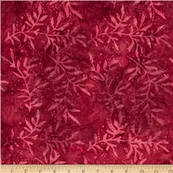 Moda Paint Box Batiks Free Spirit Red