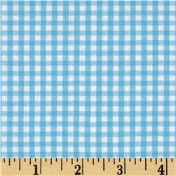 "Woven 1/8"" Carolina Gingham Pond"