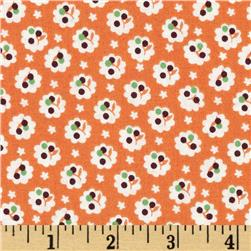 A is For Mini Floral Orange
