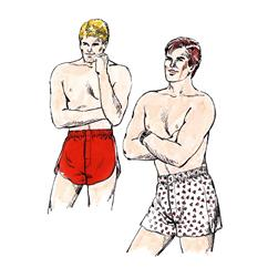 Kwik Sew Men's Boxer Shorts Pattern