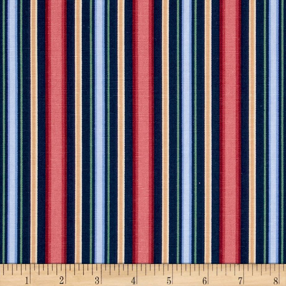 Madison Delaney Stripes Navy