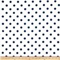 Premier Prints Polka Dot White/Blue