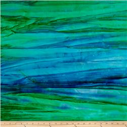 Kaufman Artisan Batiks Patina Handpaints Bold Stripes Bermuda