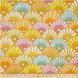Kaffe Fassett Collective Thousand Flowers Yellow Fabric