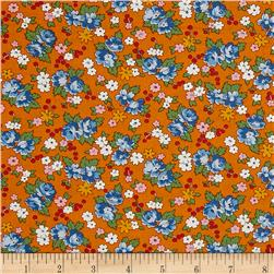 Moda Spring-A-Ling Spring Bouquet Orange