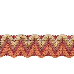 "Isabelle De Borchgrave 2"" Papermoon Trim Sunset"