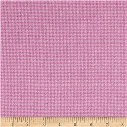 Local Color Yarn Dyed Flannels Houndstooth Pink