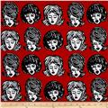 Kaufman Bouffants & Broken Hearts Girls Red