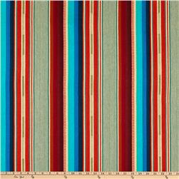 Laura & Kiran Southwest Stripes El Paso Turq/Orange