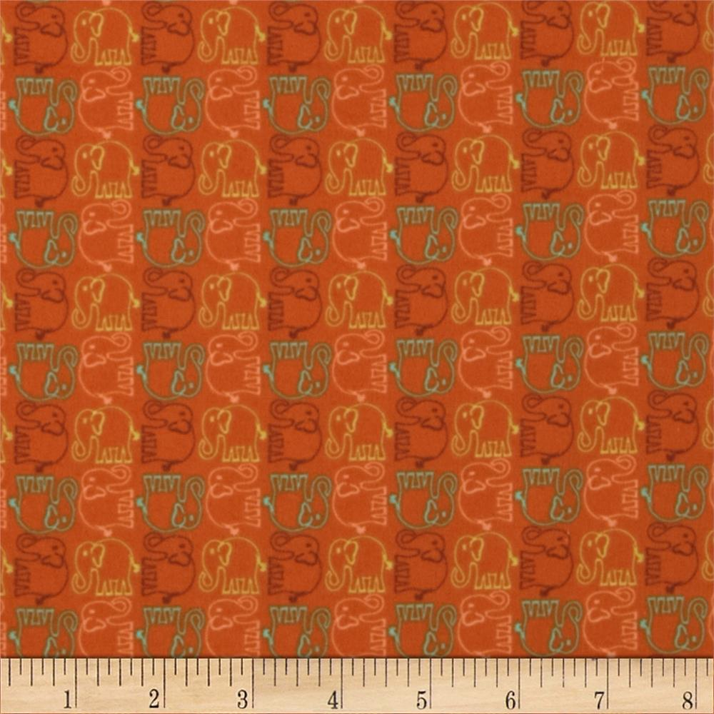 Valori Wells Bridgette Lane Flannel Ellie Cherry Fabric By The Yard