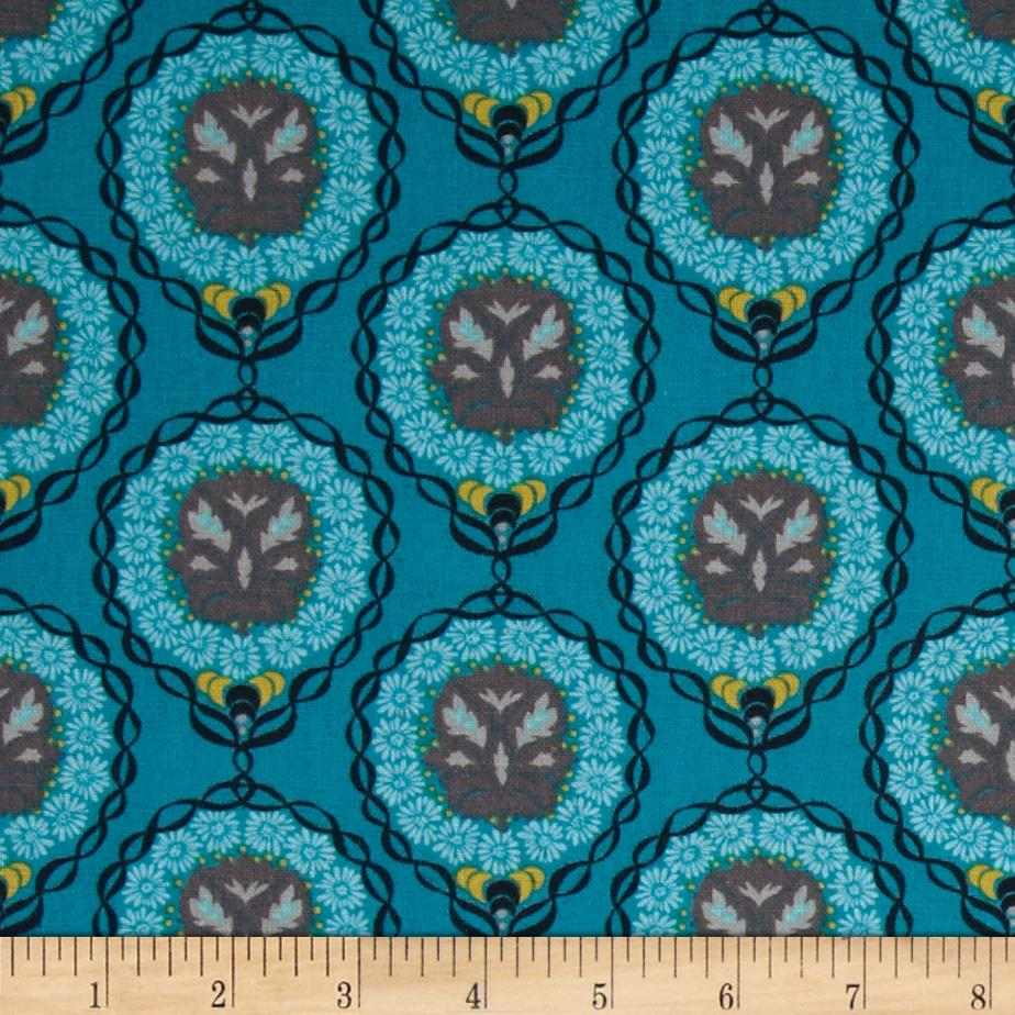 Valori Wells Medallion Stripe Essex Linen Azure