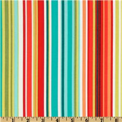 Michael Miller Bungalow Stripe Citron Fabric