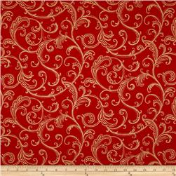 Stardust Scroll Red