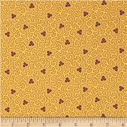 Moda Collections for a Cause Mill Book 1892 Swirls & Clover Tan/Purple